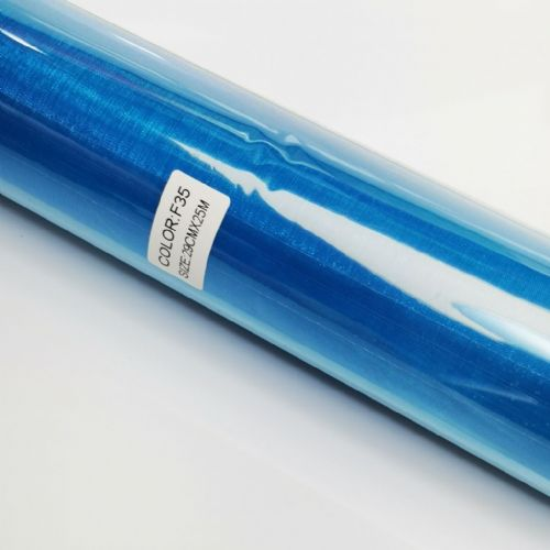 Turquoise  Organza  Roll F35 29cm